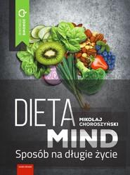 okładka Dieta MIND, Ebook | Choroszyński Mikołaj