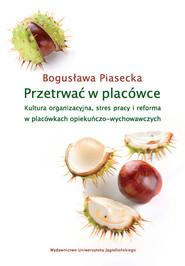 okładka Przetrwać w placówce, Ebook   Bogusława  Piasecka