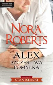 okładka Alex  Szczęśliwa pomyłka, Ebook | Nora Roberts