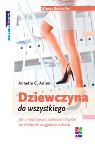 okładka Dziewczyna od wszystkiego, Ebook | Anette C. Anton