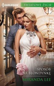 okładka Sposób na blondynkę, Ebook | Miranda Lee