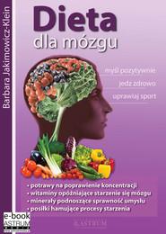 okładka Dieta dla mózgu, Ebook   Barbara Jakimowicz-Klein