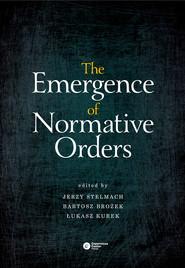 okładka The Emergence of Normative Orders, Ebook |
