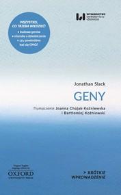 okładka Geny, Ebook | Jonathan Slack