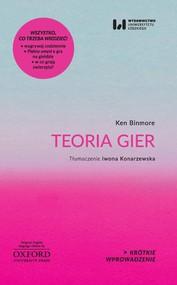 okładka Teoria gier, Ebook | Ken Binmore