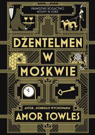 okładka Dżentelmen w Moskwie, Ebook | Amor Towles