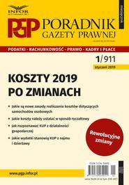 okładka Koszty 2019 – po zmianach, Ebook | Tomasz Krywan