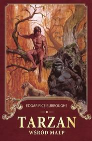 okładka Tarzan wśród małp, Ebook   Edgar Rice Burroughs