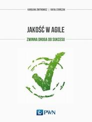 okładka Jakość w Agile, Ebook | Karolina  Zmitrowicz, Rafał  Stańczak