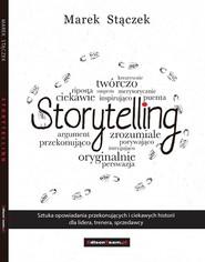okładka Storytelling, Ebook | Marek Stączek