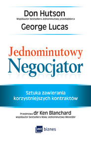 okładka Jednominutowy Negocjator, Ebook | Don Hutson, George Lucas