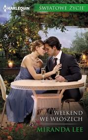 okładka Weekend we Włoszech, Ebook | Miranda Lee