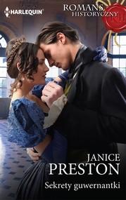 okładka Sekrety guwernantki, Ebook | Janice Preston