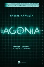 okładka Agonia, Ebook | Kapusta Paweł