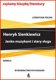 okładka Janko muzykant i stary sługa, Ebook   Henryk Sienkiewicz