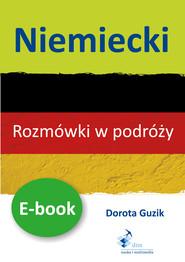 okładka Niemiecki Rozmówki w podróży ebook, Ebook | Dorota Guzik