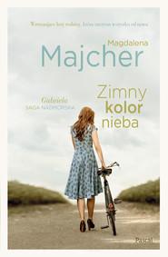 okładka Zimny kolor nieba, Ebook | Magdalena Majcher
