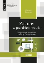 okładka Zakupy w przedsiębiorstwie, Ebook   Wojciech Budzyński