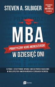 okładka MBA w dziesięć dni, Ebook | Steven  Silbiger