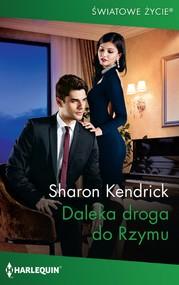 okładka Daleka droga do Rzymu, Ebook | Sharon Kendrick