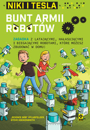 "okładka Niki iTesla. Bunt armii robotów, Ebook | ""Science Bob"" Pflugfelder, Steve Hockensmith"
