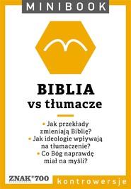okładka Biblia [vs tłumacze]. Minibook, Ebook   autor zbiorowy
