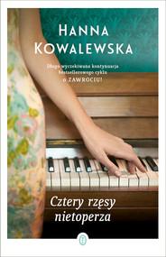 okładka Cztery rzęsy nietoperza, Ebook | Hanna Kowalewska