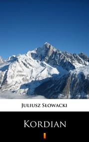 okładka Kordian, Ebook   Juliusz Słowacki