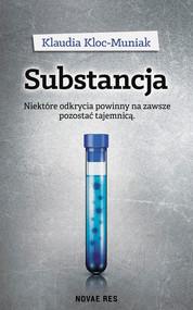 okładka Substancja, Ebook   Klaudia  Kloc-Muniak