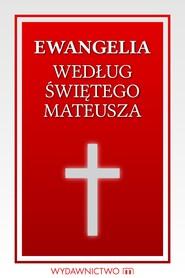okładka Ewangelia według świętego Mateusza, Ebook | autor zbiorowy