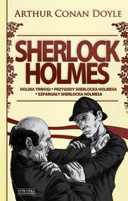 okładka Sherlock Holmes T.2: Dolina trwogi. Przygody Sherlocka Holmesa. Szpargały Sherlocka Holmesa DODRUK, Ebook | Arthur Conan Doyle