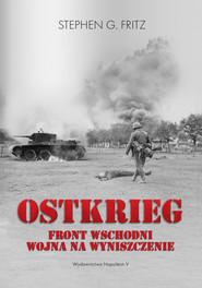 okładka Ostkrieg., Ebook   Stephen G. Fritz