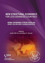 okładka Nowa Ekonomia Strukturalna wobec krajów mniej zaawansowanych, Ebook | Alojzy Z.  Nowak, Justin Yifu  Lin