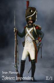okładka Żołnierz Imperialny 1800-1814 Tom II/1, Ebook | Morvan Jean