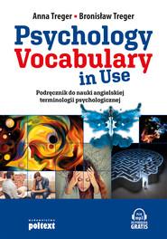 okładka Psychology Vocabulary in Use, Ebook | Anna Treger, Bronisław Treger