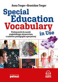 okładka Special Education Vocabulary in Use, Ebook | Anna Treger, Bronisław Treger