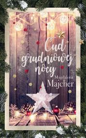 okładka Cud grudniowej nocy, Ebook | Magdalena Majcher