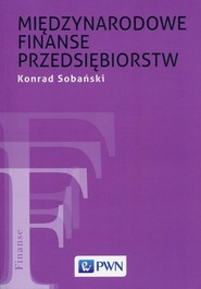 okładka Międzynarodowe finanse przedsiębiorstw, Ebook | Konrad  Sobański