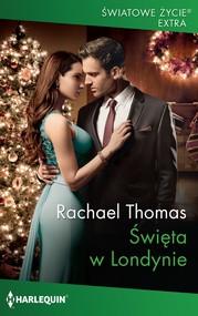 okładka Święta w Londynie, Ebook | Rachael Thomas