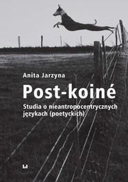 okładka Post-koiné, Ebook | Anita Jarzyna