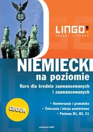 okładka Niemiecki  na poziomie, Ebook | Tomasz Sielecki