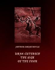 okładka Znak czterech. The Sign of Four, Ebook   Arthur Conan Doyle