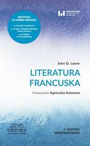 okładka Literatura francuska, Ebook   John D. Lyons