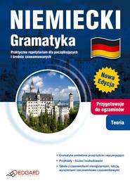 okładka Niemiecki Gramatyka. Praktyczne repetytorium dla początkujących i średnio zaawansowanych, Ebook | autor zbiorowy