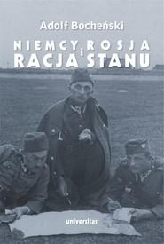 okładka Niemcy, Rosja i racja stanu, Ebook | Bocheński Adolf, Jan Sadkiewicz