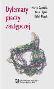 okładka Dylematy pieczy zastępczej, Ebook | Kęska Adam, Marta Danecka, Rafał  Pląsek