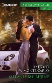 okładka Tydzień w Monte Carlo, Ebook   Melanie Milburne