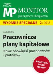okładka Pracownicze plany kapitałowe., Ebook   dr Aneta Olędzka