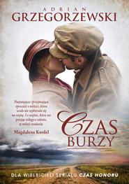 okładka Czas burzy, Ebook | Adrian Grzegorzewski