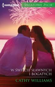 okładka W świecie sławnych i bogatych, Ebook   Cathy Williams